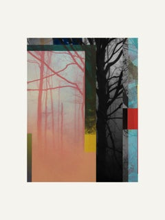 Forest XIX - Contemporary, Abstract, Minimalism, Modern, Pop art, Surrealist
