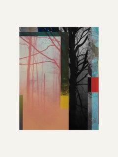 Forest XIX - Contemporary, Abstract, Minimalism, Modern, Pop art, Surrealist