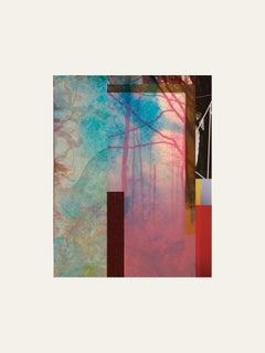 Forest XVIII- Contemporary, Abstract, Minimalism, Modern, Pop art, Surrealist