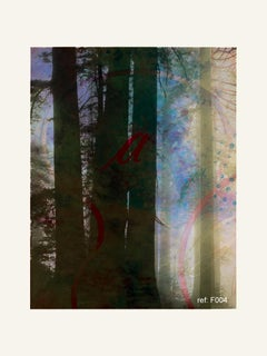Forest XXIII - Contemporary, Abstract, Modern, Pop art, Surrealist, Landscape