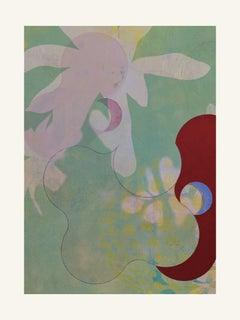 Green -Contemporary, Abstract, Modern, Pop art, Surrealist, Landscape, Nature