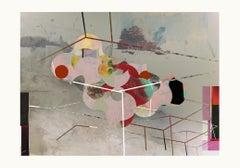 L0370-Contemporary, Abstract, Modern, Pop art, Surrealist, expressionist, birds