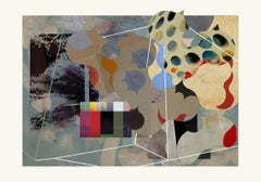 L0376-Contemporary, Abstract, Modern, Pop art, Surrealist, expressionist, birds
