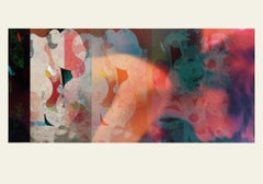 Lovers 2 -Contemporary, Abstract, Minimalism, Modern, Expressionist, Surrealist