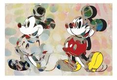M005-Figurative, Pop art. Street art, Modern, Contemporary, Abstract Mickey Mous