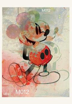 M016-Figurative, Street art, Pop art, Modern, Contemporary, Abstract Mickey Mous