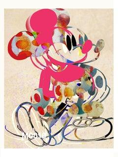 M017-Figurative, Pop art. Street art, Modern, Contemporary, Abstract Mickey Mous