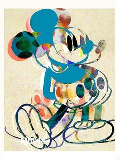 M019-Figurative, Pop art. Street art, Modern, Contemporary, Abstract Mickey Mous