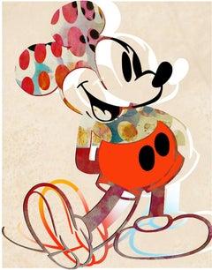 M06-Figurative, Pop art. Street art, Modern, Contemporary, Abstract Mickey Mous