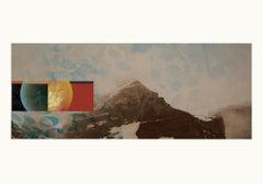 Mountain 1 - Contemporary, Abstract, Pop art, Surrealist, geometric, landscape