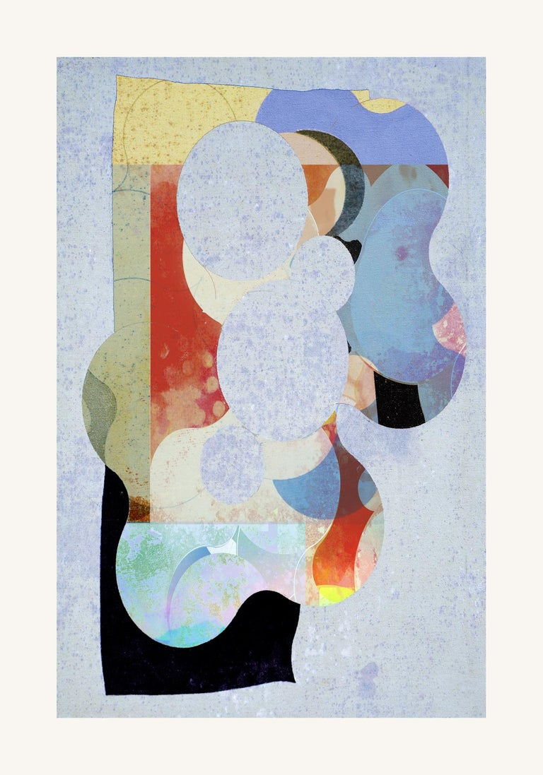 Remember 09 -Contemporary , Abstract, figurative, Pop, Modern, Geometric - Mixed Media Art by Francisco Nicolás
