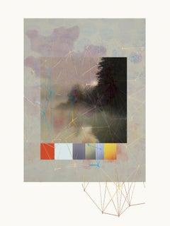 River -Contemporary, Abstract, Modern, Pop art, Surrealist, Landscape, Geometric