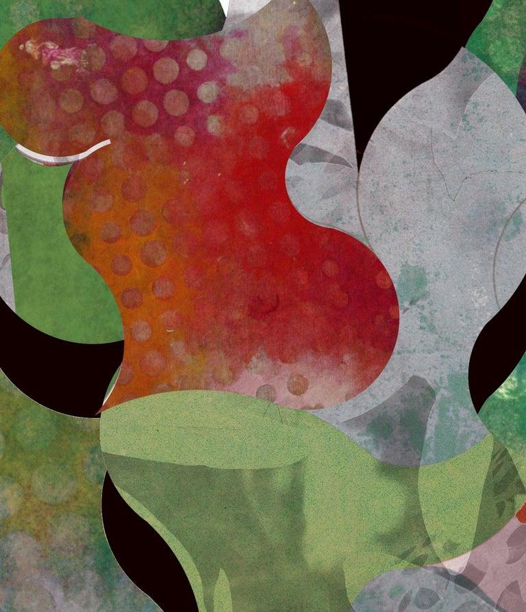 ST0045-Contemporary, Abstract Gestual, Street art, Pop art, Modern, Geometric - Print by Francisco Nicolás