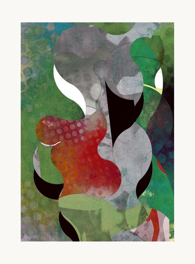 Francisco Nicolás Abstract Print - ST0045-Contemporary, Abstract Gestual, Street art, Pop art, Modern, Geometric