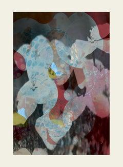 flower51-Contemporary, Abstract Gestual, Street art, Pop art, Modern, Geometric
