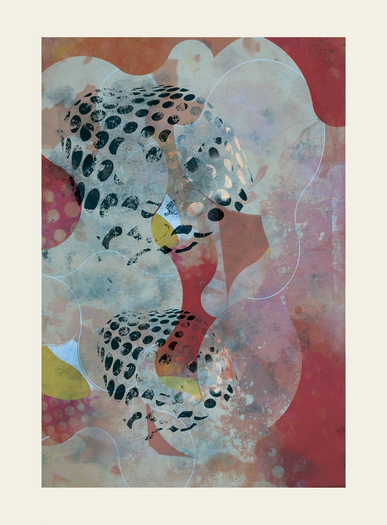 ST0052-Contemporary, Abstract Gestual, Street art, Pop art, Modern, Geometric