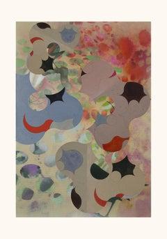 ST107B-Gestual, Street art, Pop art, Modern, Contemporary, Abstract , Geometric