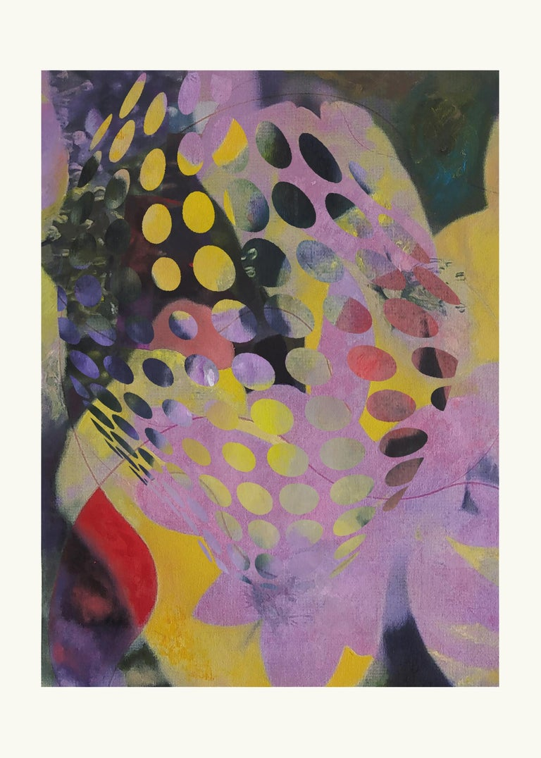 Francisco Nicolás Abstract Print - ST1a90-Contemporary , Abstract, Gestual, Street art, Pop art, Modern, Geometric