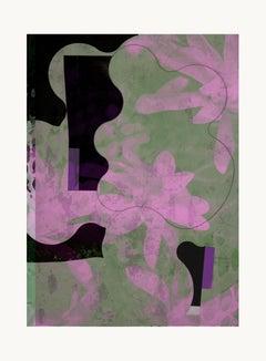 flower0-Contemporary , Abstract, Gestual, Street art, Pop art, Modern, Geometric