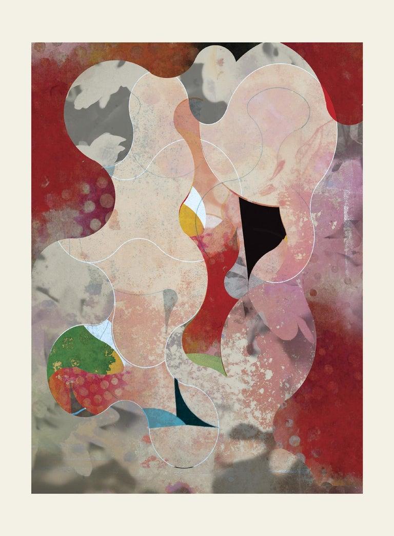 ST1As75-Contemporary , Abstract, Gestual, Street art, Pop art, Modern, Geometric - Mixed Media Art by Francisco Nicolás