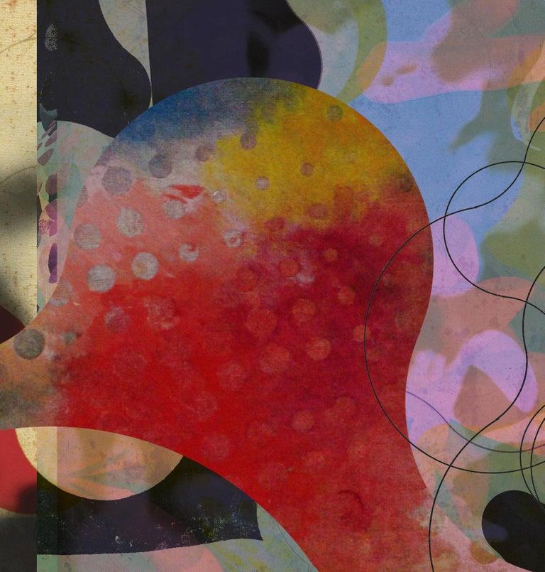 ST1B76-Contemporary , Abstract, Gestual, Street art, Pop art, Modern, Geometric - Print by Francisco Nicolás