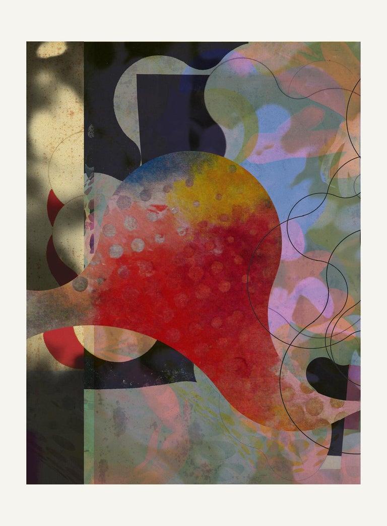 Francisco Nicolás Abstract Print - ST1B76-Contemporary , Abstract, Gestual, Street art, Pop art, Modern, Geometric