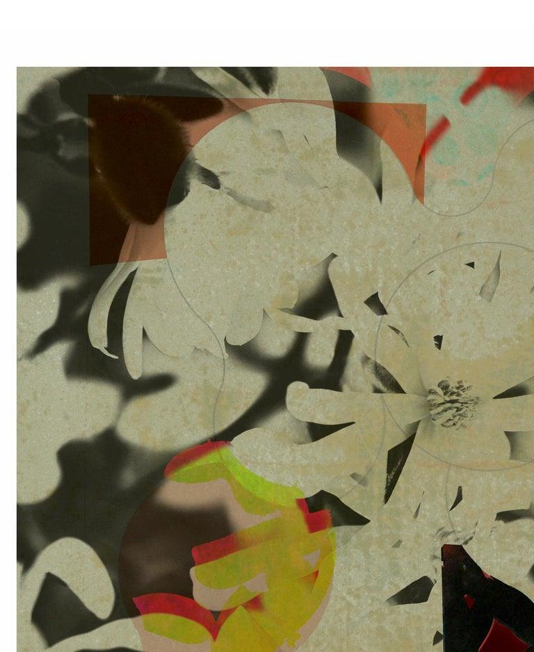 ST1b90-Contemporary , Abstract, Gestual, Street art, Pop art, Modern, Geometric - Pop Art Print by Francisco Nicolás