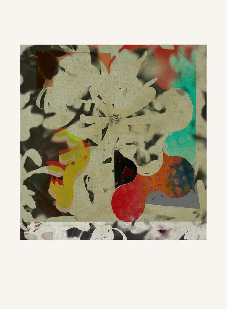 Francisco Nicolás Abstract Print - ST1b90-Contemporary , Abstract, Gestual, Street art, Pop art, Modern, Geometric
