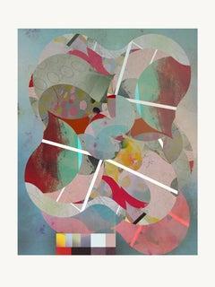ST1b91-Contemporary , Abstract, Gestual, Street art, Pop art, Modern, Geometric
