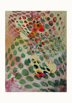 ST1b92-Contemporary , Abstract, Gestual, Street art, Pop art, Modern, Geometric