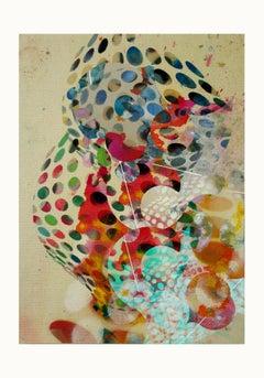 ST1b94-Contemporary , Abstract, Gestual, Street art, Pop art, Modern, Geometric