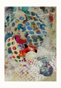 ST1b95-Contemporary , Abstract, Gestual, Street art, Pop art, Modern, Geometric
