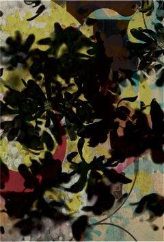 flower 99 -Contemporary , Abstract, Gestual, Street art, Pop art, Modern,