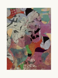 ST1c58-Contemporary , Abstract, Gestual, Street art, Pop art, Modern, Geometric