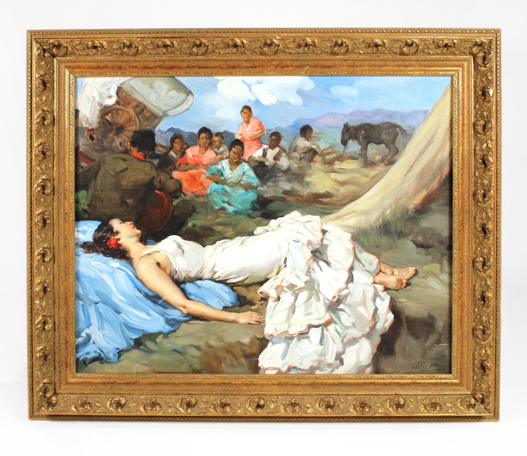 Francisco Rodriguez san Clemente Oil Painting