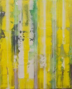 Hello Yellow, Painting, Acrylic on Canvas