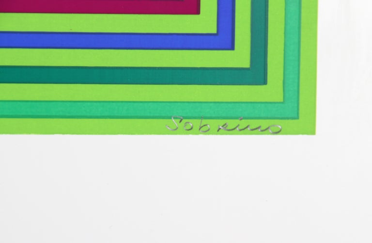 Untitled (Squares) - Print by Francisco Sobrino