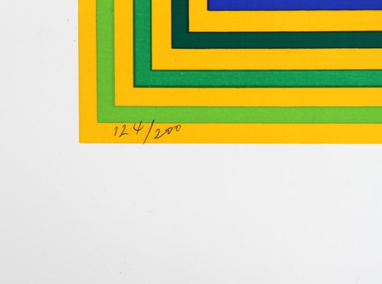Untitled (Squares) - Op Art Print by Francisco Sobrino