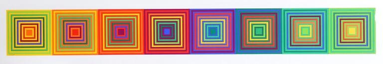 Francisco Sobrino Abstract Print - Untitled (Squares)