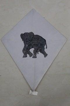 Papalote con Elefante