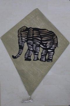 Papalote con Elefante Grande