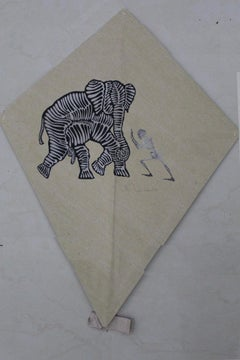Papalote con Elefante y Calavera