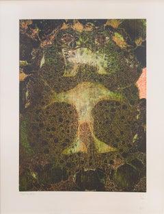 """""""Sapo"""", Francisco Toledo, Woodcut Print, Oaxacan Art"""