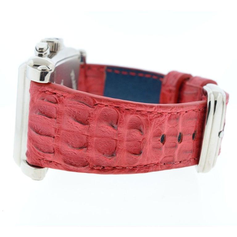 Franck Muller 119 18 Karat White Gold Conquistador Cortez 10000 K CC Men's Watch For Sale 2