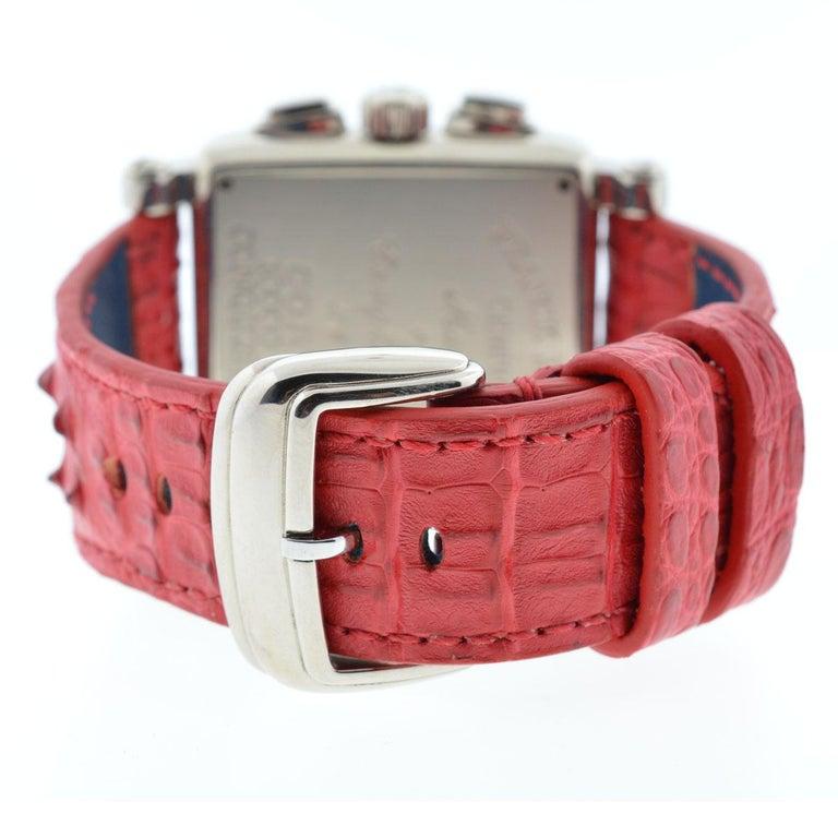 Franck Muller 119 18 Karat White Gold Conquistador Cortez 10000 K CC Men's Watch For Sale 3