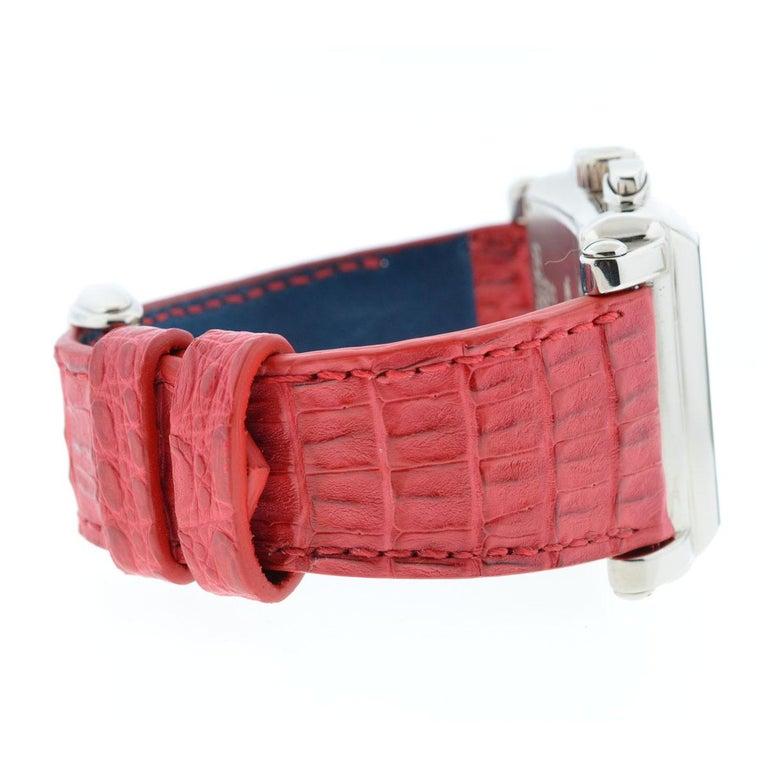 Franck Muller 119 18 Karat White Gold Conquistador Cortez 10000 K CC Men's Watch For Sale 4