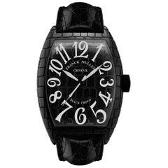 Franck Muller Black Croco Automatic Watch