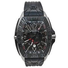 Franck Muller Black Titanium Grand Prix 9900 SC GP Automatic Men Wristwatch 43mm