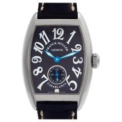 Franck Muller Casablanca 1750 S6, Black Dial, Certified