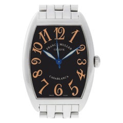 Franck Muller Casablanca 2852 WW, Gold Dial, Certified and Warranty